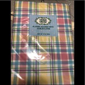 Plaid Tablecloth